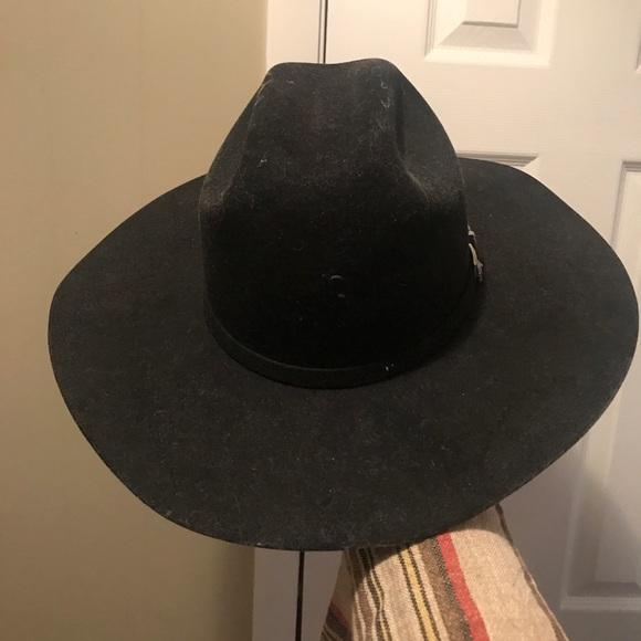 Vintage Stetson Apache Hat. M 5acae885a4c4858d8232951e 0c09464a13de